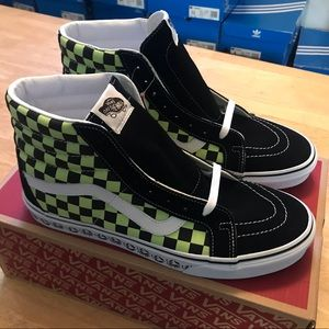 Vans BMX Sk8-Hi Shoes Checkered Men's 10.5
